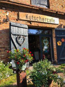 Süßes kleines Cafe in Boek im Nationalpark Müritz.