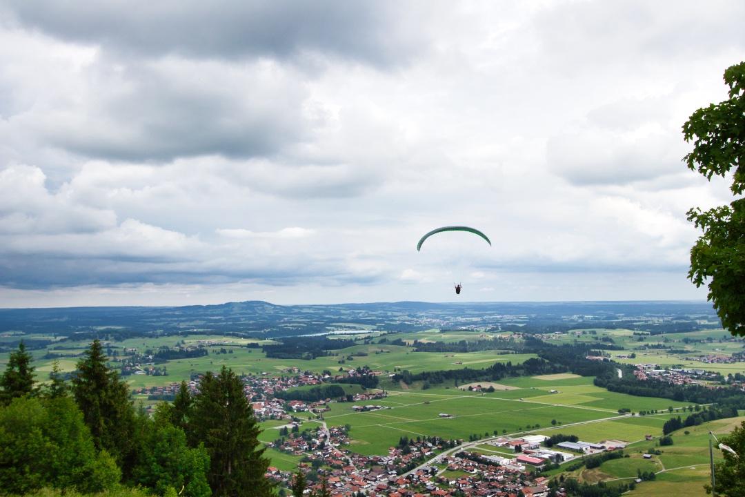 Paraglider Buchenberg