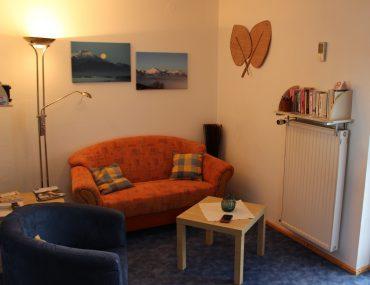 Ferienwohnung Guggenberg Wohnzimmer