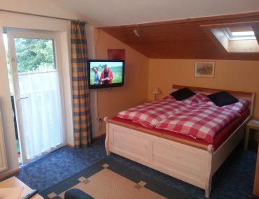 Ferienwohnung Guggenberg Schlafzimmer