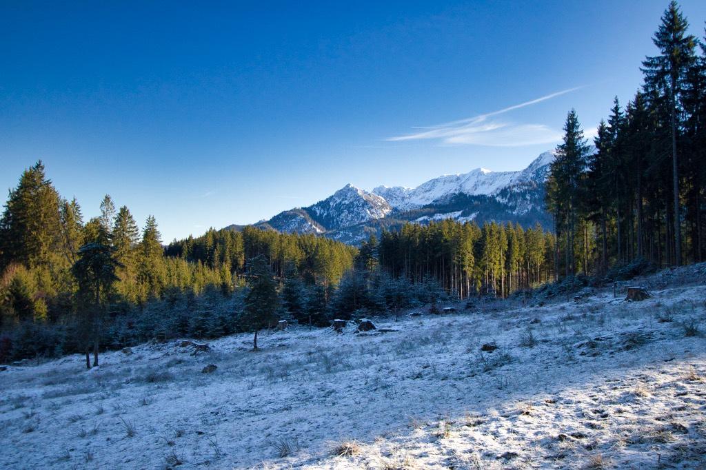 Ammergauer Berge im Allgäu
