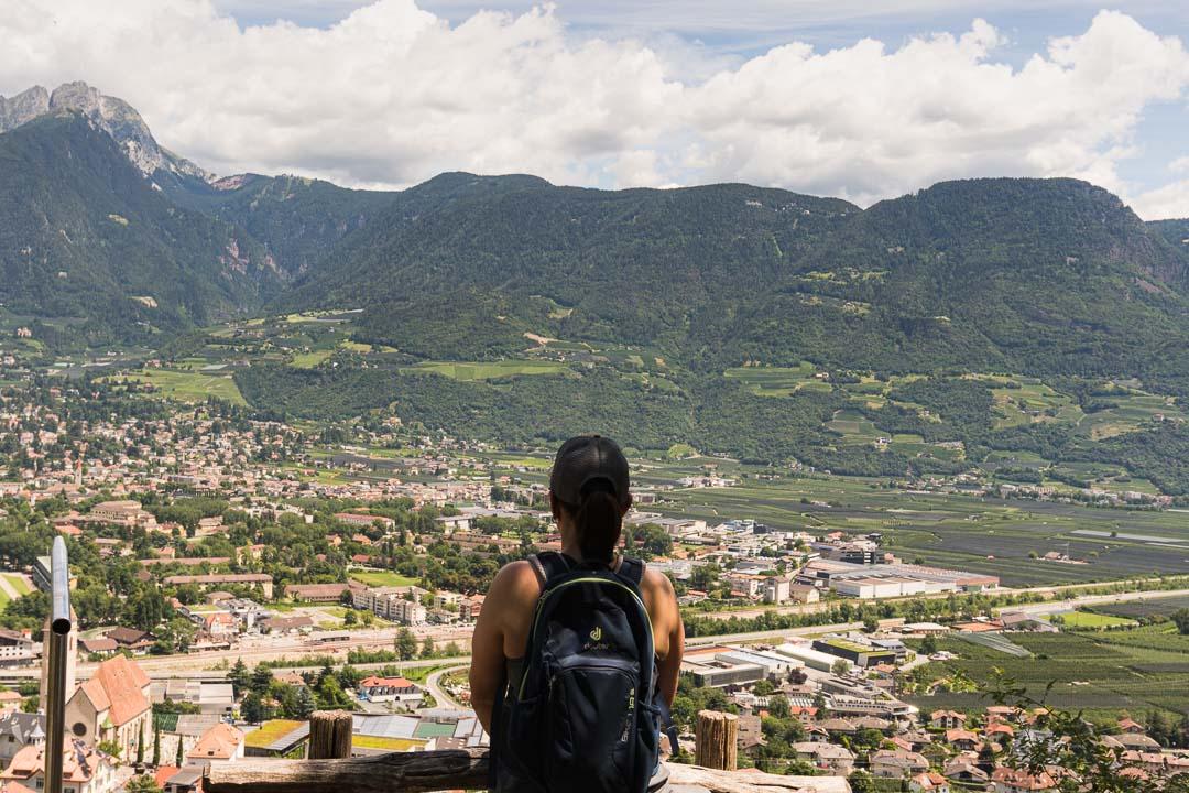 Maligner Waalweg Südtirol Wandern